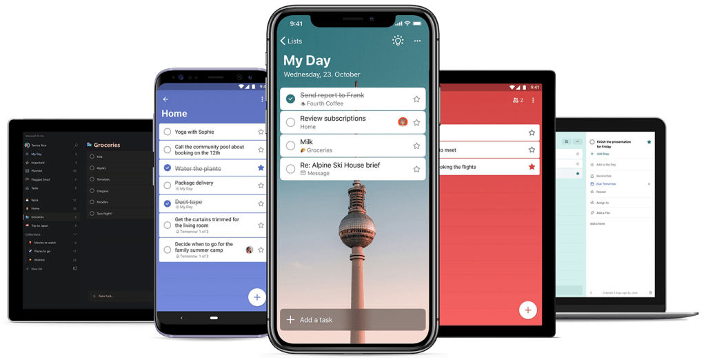 Microsoft To-Do is getting a new look on all platforms