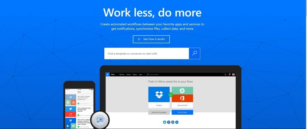 How to use Microsoft Flow instead of IFTTT