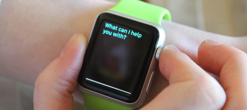How to Use Siri to Search on Apple Watch