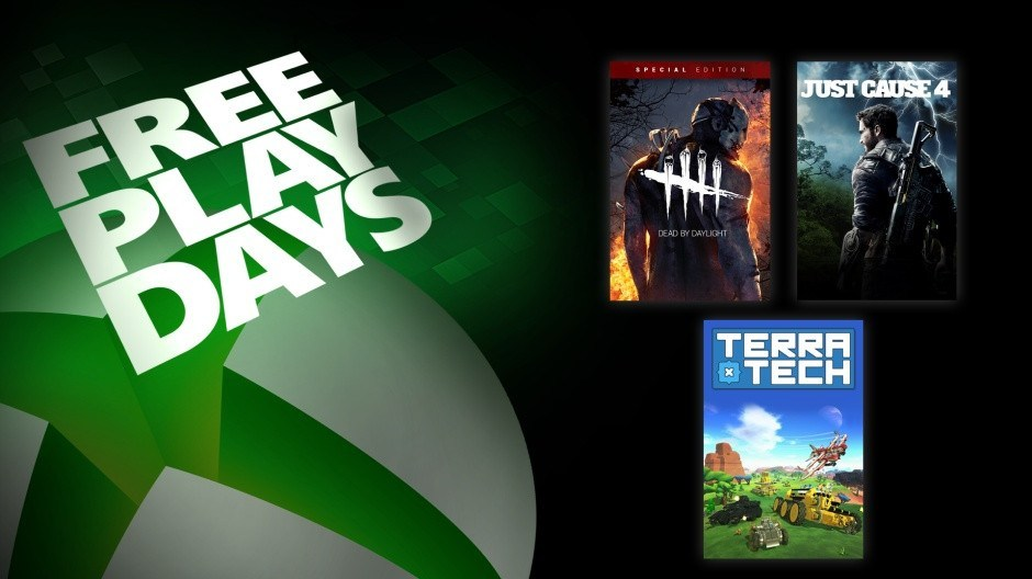 Just Cause 4, Dead by Daylight and Terra Tech are free to play with Xbox Live Gold this weekend