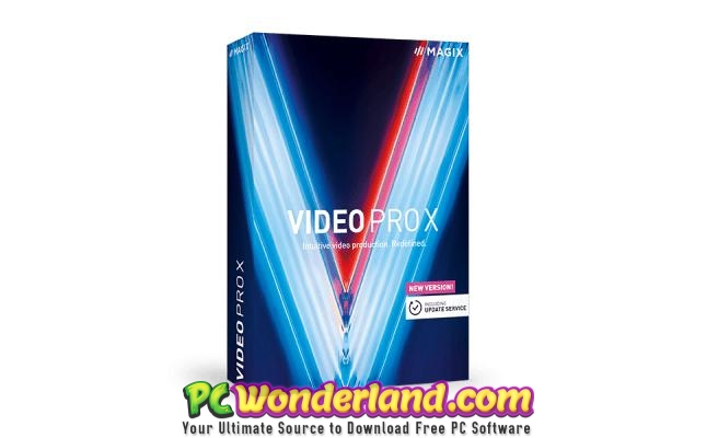 MAGIX Video Pro X11 Free Download - PC Wonderland
