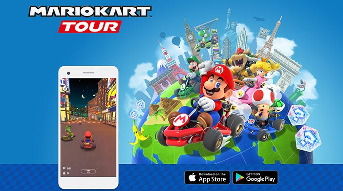 Mario Kart Tour has launched on Android and iOS