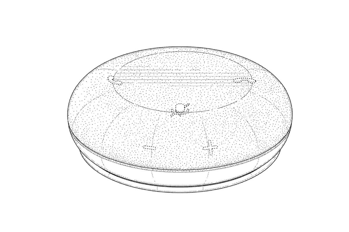 Microsoft's mysterious portable speaker revealed in patent filing