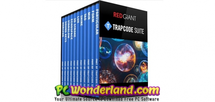 Red Giant Trapcode Suite 15.1.4 Free Download - PC Wonderland