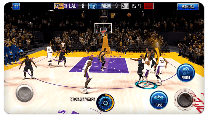 Season 2 of NBA 2K Mobile is out