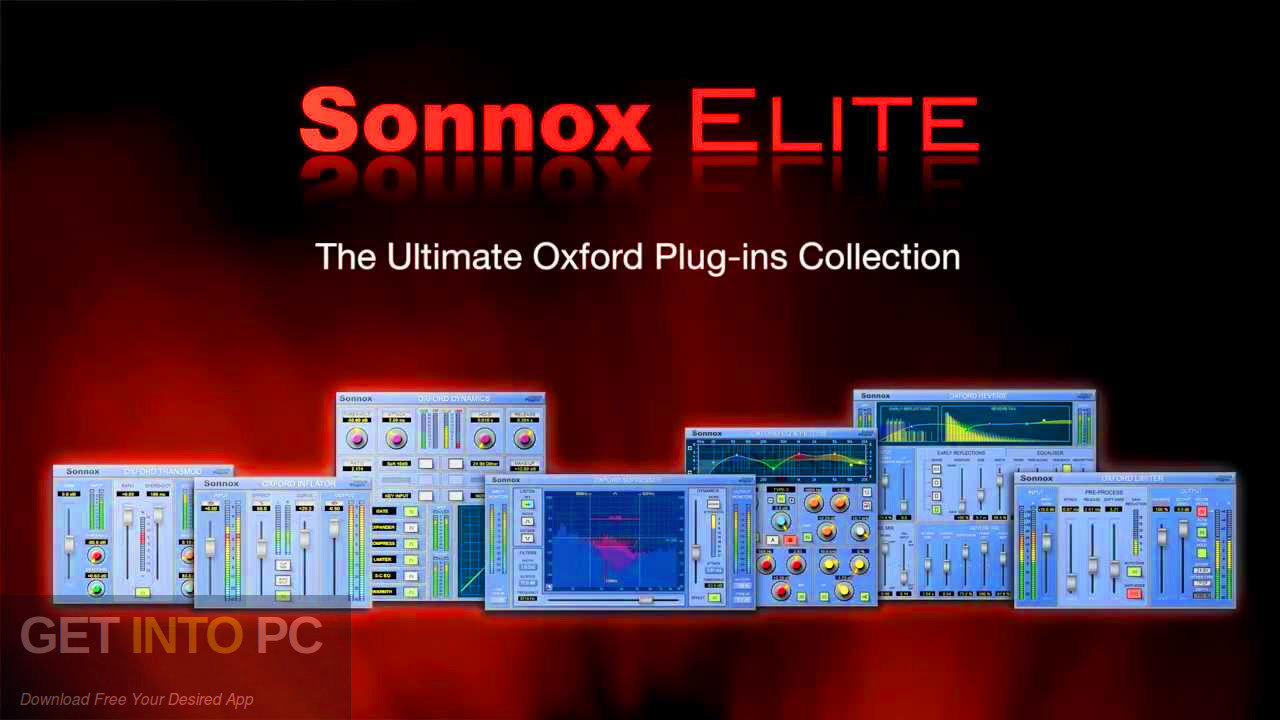 Sonnox - Oxford Elite Collection VST Free download-GetintoPC.com