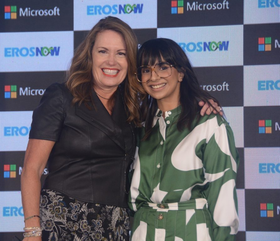 Eros Now streaming service collaborates with Microsoft to develop the next-generation online video platform