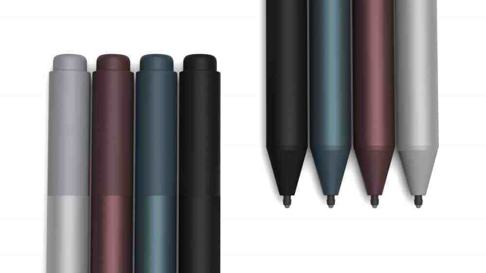 The Surface Pro 7's Surface Pen might support wireless charging