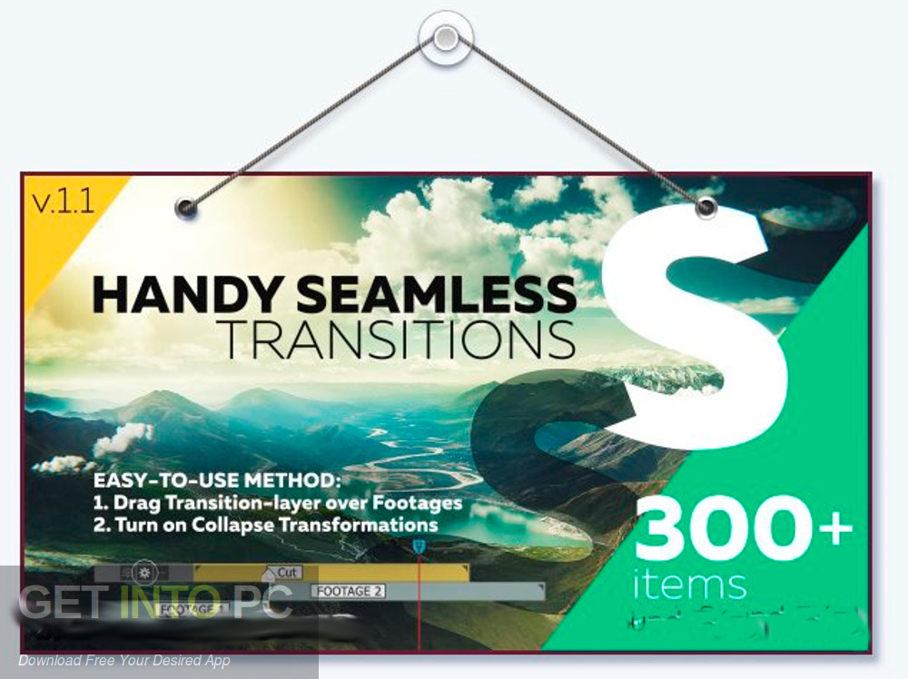 VideoHive Handy Seamless Transitions Pack Script Download free-GetintoPC.com