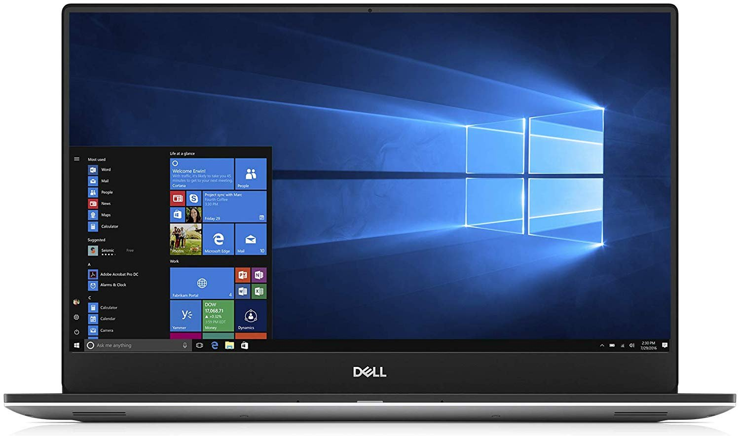 What is Dell XPS 15 7590 with 4K display battery life like?