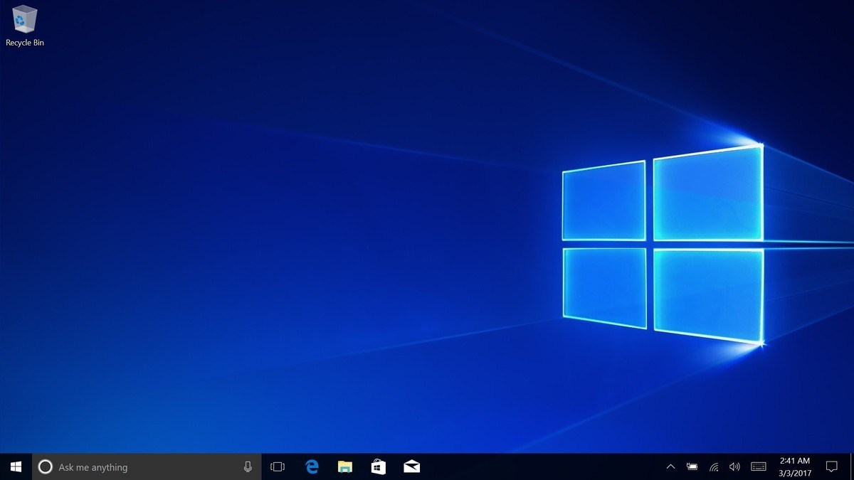 Wallpaper of the new Windows 10 hero