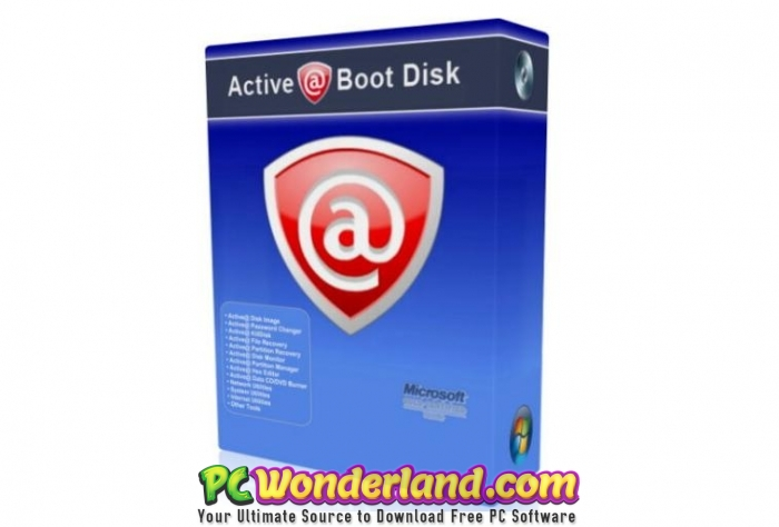 Active Boot Disk 14 Free Download - PC Wonderland