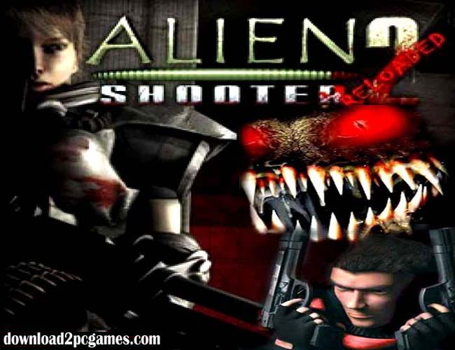 Alien Shooter 2 Free Game Download Full version for PC - Reloaded