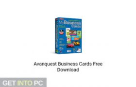 Avanquest Business Cards Latest version Download-GetintoPC.com