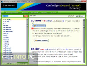 Cambridge Advanced Learner & # 39; s Dictionary Fourth Edition 2013 Free Download-GetintoPC.com