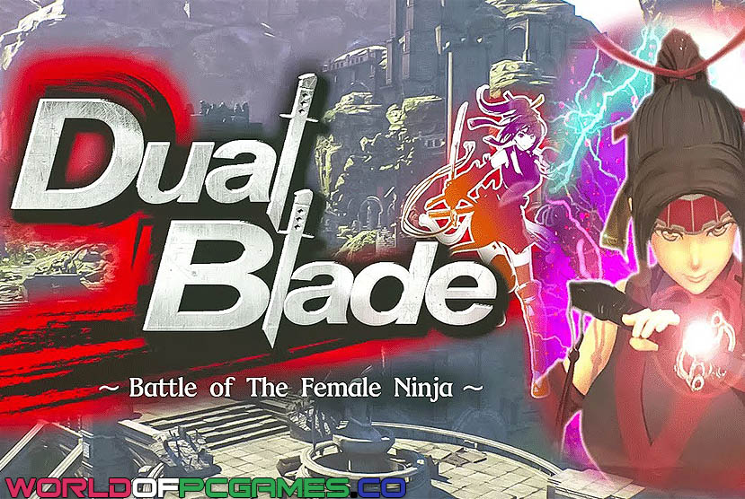 Double Blade Battle of Female Ninja by Worldofpcgames
