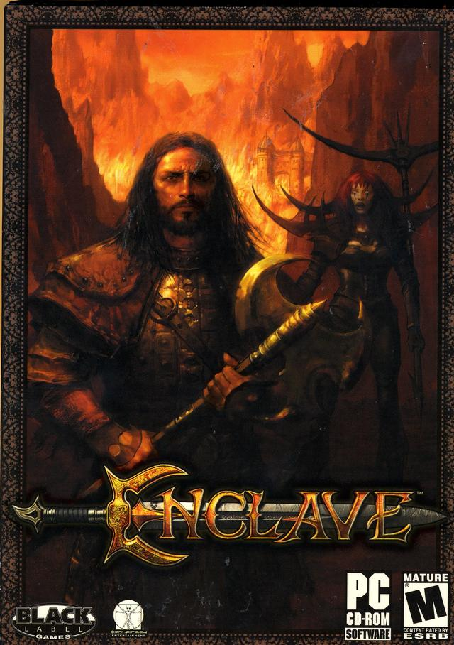 Free download of the game for PC Enclave Full version- GOG