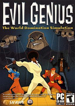 Free download of the game Evil Genius Full version for PC-GOG