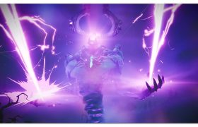 Fortnitemares event - Storm King