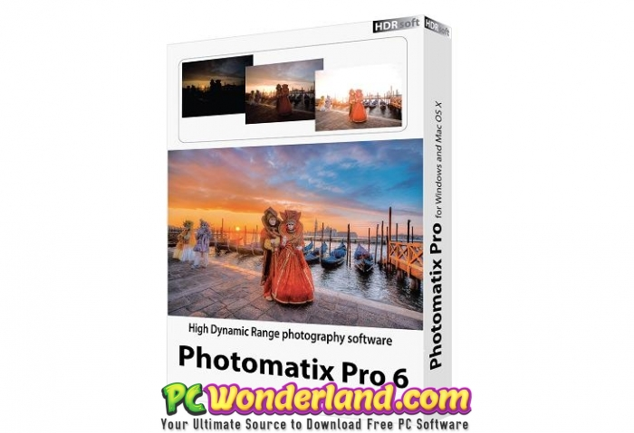 HDRsoft Photomatix Pro 6.1.3a Free Download - PC Wonderland