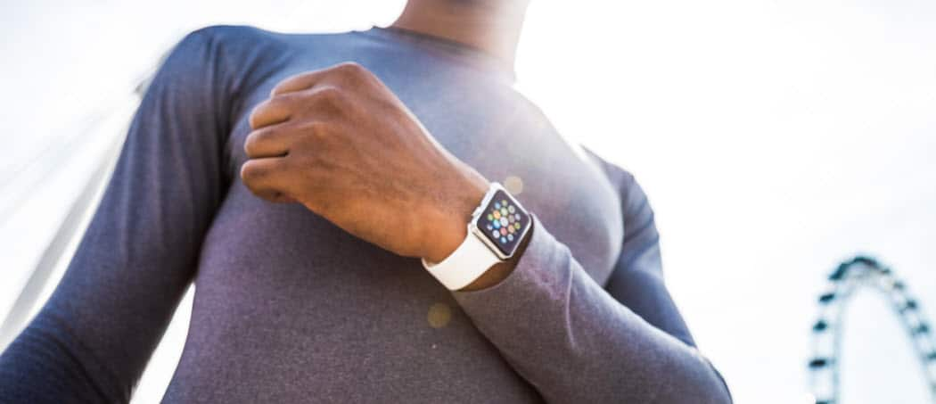 How to Disable the Always On Display on Your Apple Watch