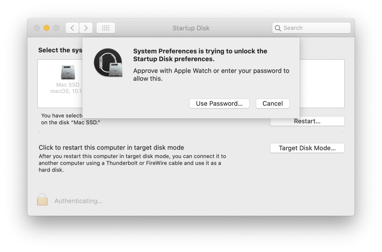 How to enter Mac passwords with your Apple Watch