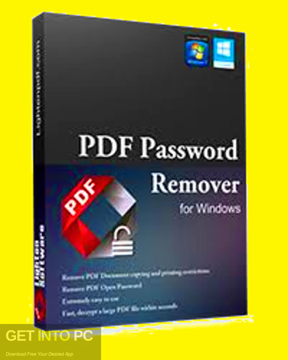 Lighten PDF Password Remover Download free-GetintoPC.com