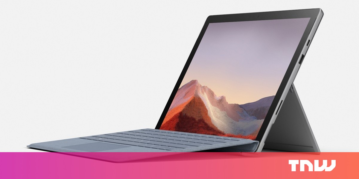 Microsoft reveals the Surface Pro 7 with USB-C