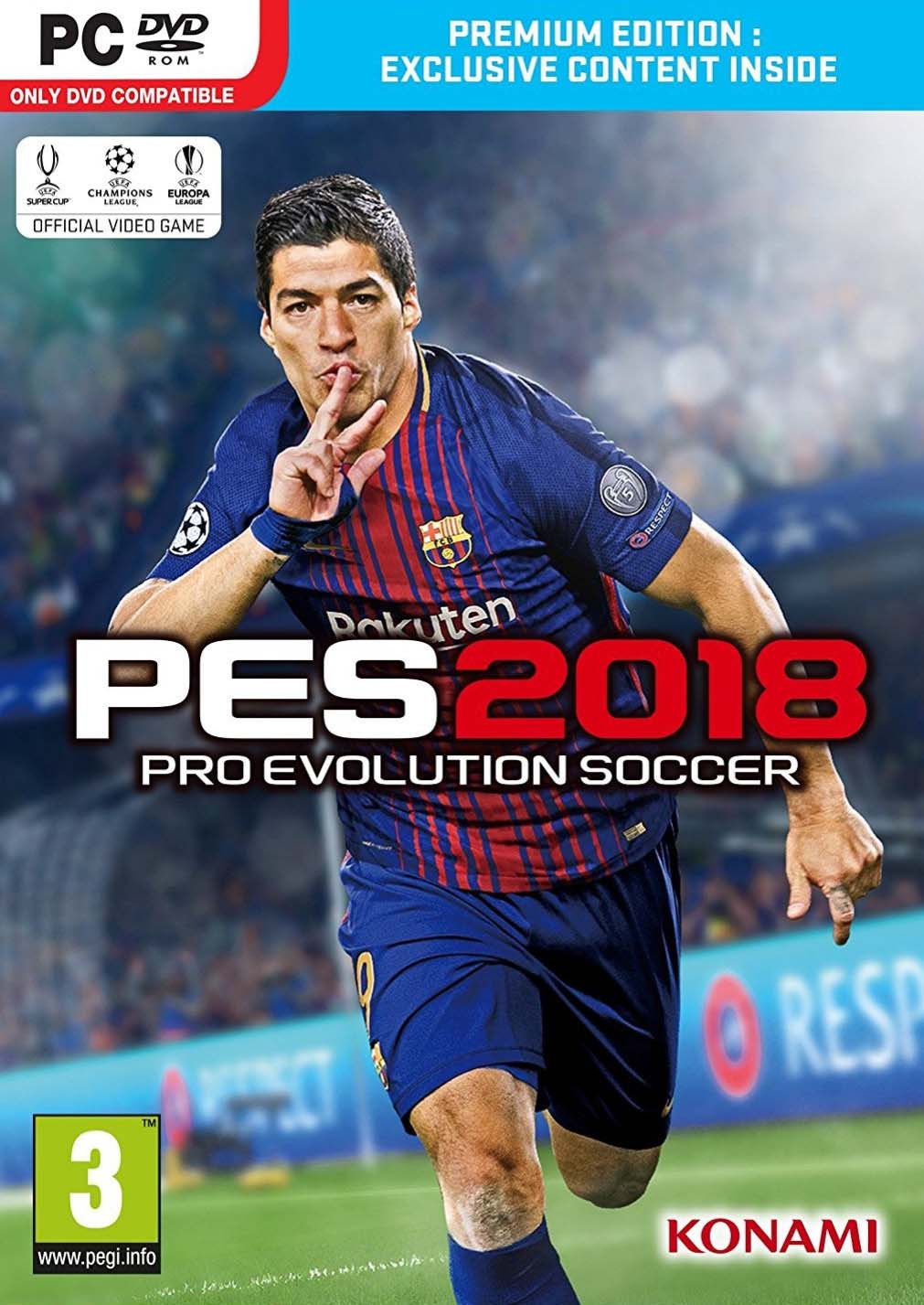Pro Evolution Soccer 2018 Download the full version of the free PC game- CPY