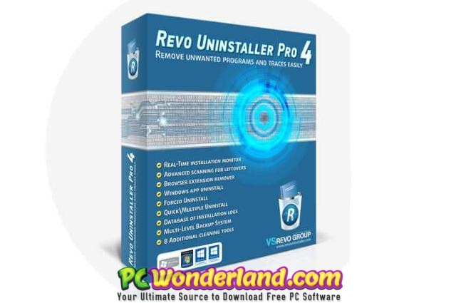 Revo Uninstaller Pro 4.2.0 Free Download - PC Wonderland