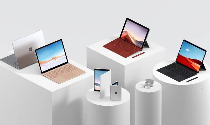 Surface: three different flavours of Windows and an Android phone