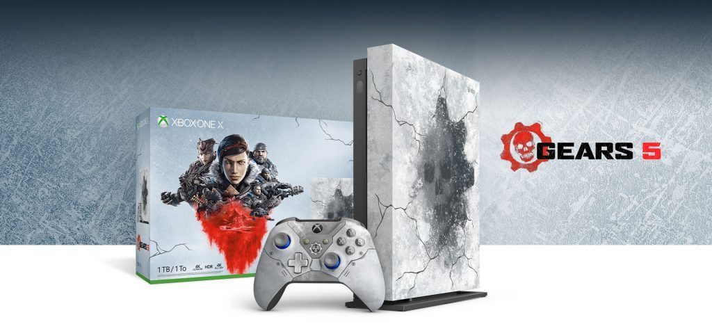 The Xbox One X Gears 5 Limited Edition console and other bundles are currently $100 off