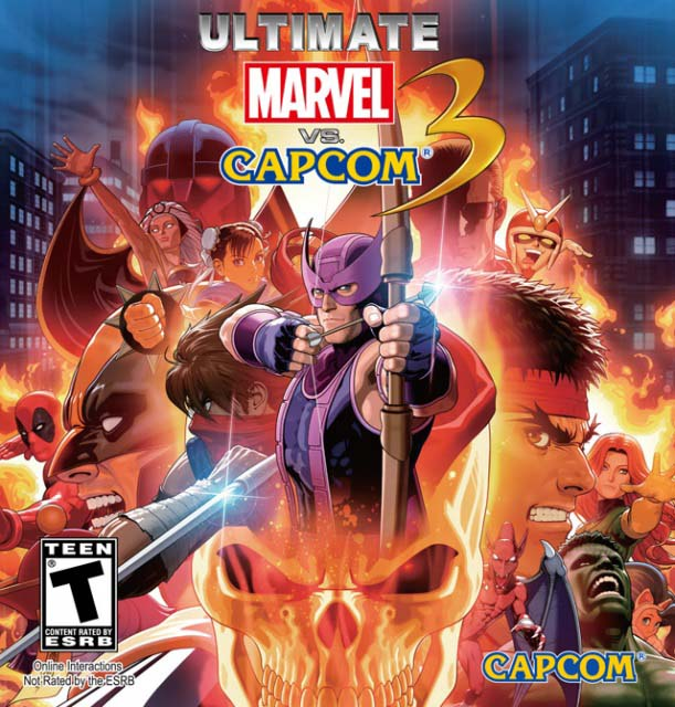 Free download of Ultimate Marvel vs Capcom 3 game for PC - Codex