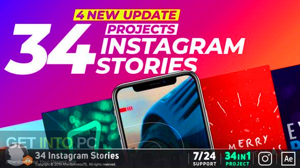 VideoHive - Free download of Instagram stories-GetintoPC.com