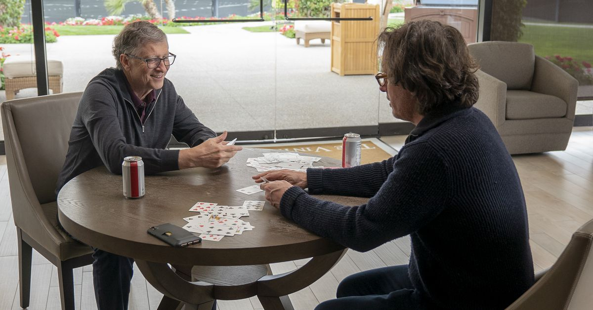 What it was like filming Bill Gates on his average day