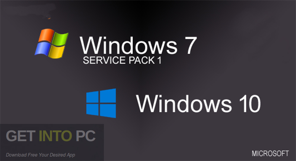 Windows 7 10 All in One 32 64 Bit 42in1 Sep 2019 Free download-GetintoPC.com