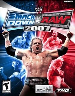 WWE Smackdown VS Raw 2007 Free download full version for PC games