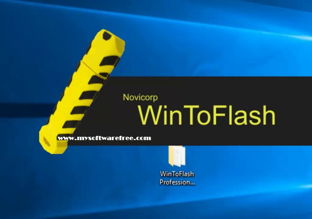 Novicorp WinToFlash Professional 1.4.0000 Portable Free Download