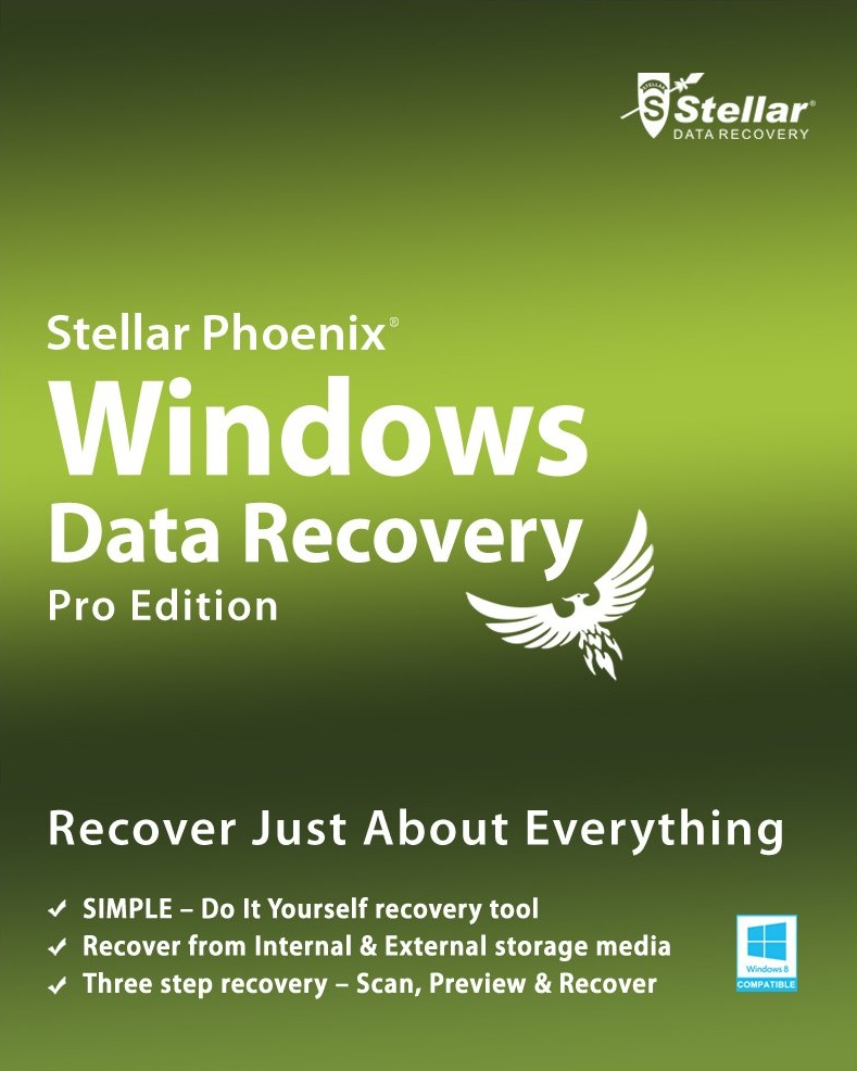 Stellar Phoenix Windows Data Recovery Professional v7.0 Free Download