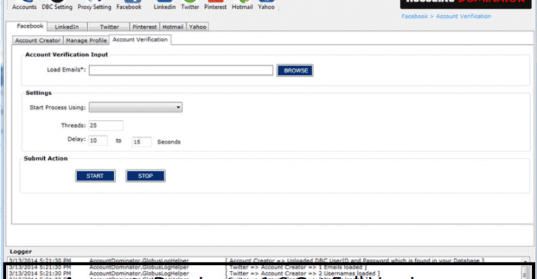 Get the full version of Account Dominator 1.6