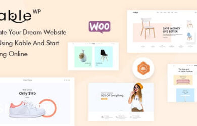 Kable Multipurpose WooCommerce Theme v150 Free Download