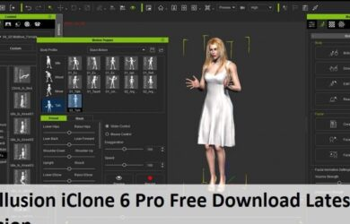 Reallusion iClone 6 Pro Free Download Latest Version