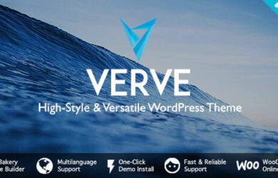 Verve High Style WordPress Theme v501 Free Download