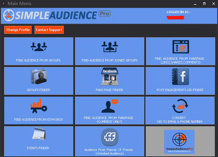 1629126181 501 Fb Audiens Extractor Professional v71 – Social Media Advertising and